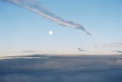 (Kevin Orbitz) Tags: morning travel sky moon film clouds analog 35mm photography kodak aviation air flight trails ishootfilm explore 35mmfilm planet analogue 35 analogphotography 35mmphotography kodakfilm kodak200 filmphotography filmroll filmburn filmisnotdead analoguephotography westillshootfilm