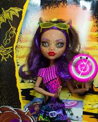 Starry Clawdeen (bantambuell) Tags: dolls mh fashiondoll repaint clawdeen monsterhigh clawdeenwolf