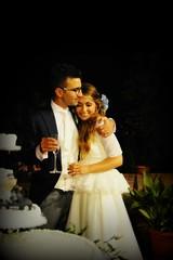 tra le mie braccia (me, paolo and the seven wonders + two) Tags: maya cena matrimonio torta filippo sposa sposi sposo spumante picmonkey