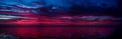 Eerie looking predawn colors emerge over the Indian River (Tedj1939) Tags: ocean morning sky sun nature clouds sunrise river dawn seascapes predawn indianriver