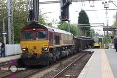 DBSchenker Class 66148 (Bluke's Photography) Tags: road manchester shed 66 class metrolink navigation dbs emd ews m5000 66148 dbschenker