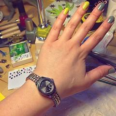 my new watch is iridescent, just... (doodooFORyooyoo) Tags: iridescent aura dieselwatch uploaded:by=flickstagram watchesofinstagram instagram:photo=11575388260512067463975078