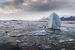 Jkulsrln - Glacier Lagoon (Claire Willans) Tags: winter sea cloud snow cold ice nature water clouds landscape iceland lagoon glacier jokulsarlon waterscape glacial jokulsarlonglacierlagoon jokulsarlonglacier
