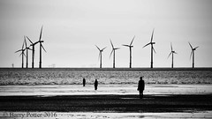 Crosby beach (Barry Potter (EdenMedia)) Tags: nikon crosby anthonygormley barrypotter anotherplace ironmenofcrosby d7200 edenmedia