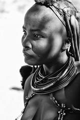Himba Woman 1 (alisdair jones) Tags: africa leica portrait woman tribal jewellery namibia himba nomadic m240 summiluxm11450asph