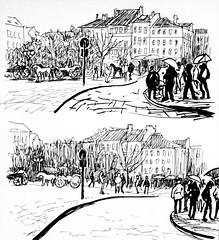 1585_1 ( ) Tags: 365      edding brushpen kalachevaschoolonline kalachevawebinar people sketches urban   landscape