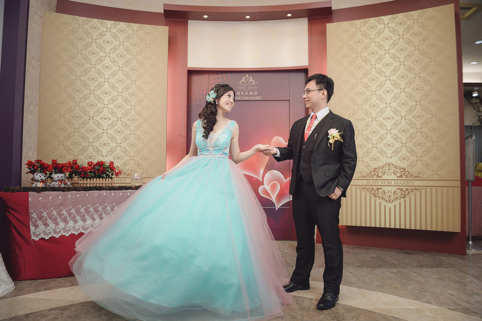 婚禮攝影-台南情定婚宴城堡永康館-93
