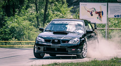 DSC_0363 (LukyPhotography) Tags: auto road street tree cars glass car sport race speed forest czech smoke rally fast run dirt subaru czechrepublic dust impreza wrx sti rallye motorsport