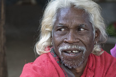 Baiga man (wietsej) Tags: india man sony tribal hils chhattisgarh a6000 baiga maikal minolta100mmf28dafmacro