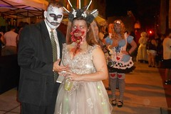 Zombicon Fort Myers , My Bride (samcservari1) Tags: face painting death paint dress fort body zombie zombies myers zombicon