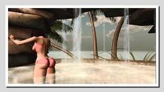 poolside 9 (Shylah Oceanlane) Tags: summer woman sexy water pool avatar sl bikini secondlife