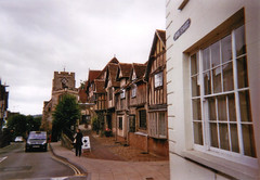 Warwick (J. Andrew Crosby) Tags: old england vintage buildings birmingham scan warwick warwickshire disposable knowle