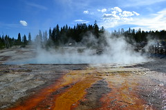Hot Spring in West Thumb Geyser Basin (inkenbrandt) Tags: yellowstone hotspring westthumb thermophiles