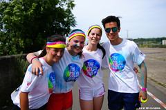 Color Run Hemiksem (Red Cathedral uses albums) Tags: sony sonyalpha alpha aztektv eventcoverage obstaclerun ocr a850 redcathedral thehappiest5kontheplanet running runners thecolorrun colorrun hemiksem antwerpen summer sun fun holi colour color blue blauw