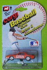 Baltimore Orioles (streamer020nl) Tags: greatbritain usa toys corgi model baseball jr baltimore junior gb 1983 juniors 5060 orioles diecast jouets spielwaren mettoy