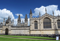 All Souls College - Oxford (Mark Wordy) Tags: city uk england university oxford oxfordshire radcliffesquare alsoulscollege