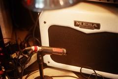 Spookyghost amp (benoitperriard) Tags: gerryleonard catseye benoitperriard ny newyork recordingstudio recording mesaboogie mesa shure sm57