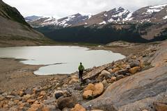 Above a Tarn (jpmckenna - Tenquille Lake Up Next) Tags: mountrobson mtrobson mountrobsonprovincialpark bcparks hikingbritishcolumbia canada canadianrockies berglakebackpack getoutisde hiking