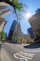 St. Patrick's Cathedral, NY USA (ak_phuong (Tran Minh Phuong)) Tags: akphuong beautiful picture art life sunshine out door great angle book covers best most magazine ny new york usa 2016 church trinity mahathan perfect excellent sun skyline sale cheap vietnamese photographer travel around world old history