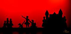 ballet classical (revinhood) Tags: red ballet canon contraluz dance rojo danza sombra 5d 70200 baile 5diii