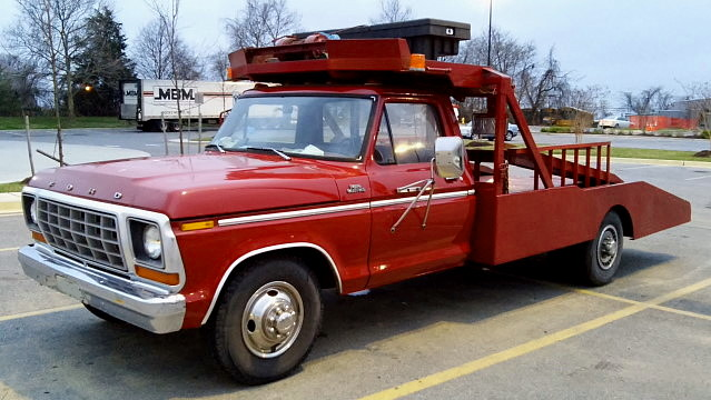 ford 1978 towtruck f350 wrecker rollback ramptruck