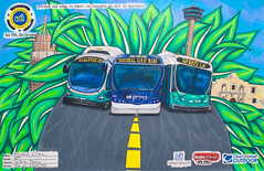 YAC 2013 Best of Show (BusterTheBus) Tags: bus art public youth san texas contest via transportation transit buster antonio metropolitan