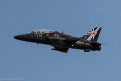 RAF Hawk T.1A XX285 at RAF Leeming (Mark_Aviation) Tags: training airplane airport force martin hawk aircraft air royal ab systems f16 falcon warrior shorts sortie af bae lockheed takeoff runway base 34 turkish joint raf t1 departing 151 tucano tutor grob leeming flighting t1a f16c zf289 890025 xx285 gbyya 16042015