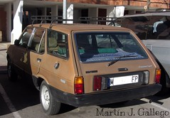 SEAT 131 1600 TC PANORAMA SUPER. 1981 (Martin J. Gallego. Siempre enredando) Tags: cars car seat coches seat131 sear131panorama