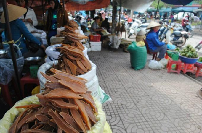 """Khoai deo được người ăn ví von là """"sâm đất"""" của miền quê đầy nắng gió Quảng Bình"""