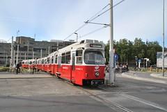 4947 Smakkelaarsveld / Utrecht CS (B100S) Tags: utrecht tram wiener lohner gt6 stadtbahn connexxion sneltram