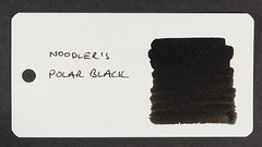 Noodler's Polar Black - Word Card