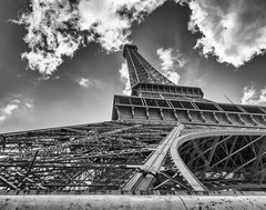 Eiffel Close up