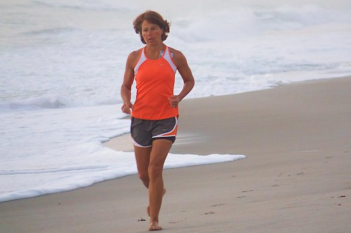 Jogger on the beach #5 - Mar 20, 2015