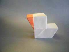 Geometric Duckling  Tuan Nguyen Tu (Rui.Roda) Tags: geometric duck origami duckling pato tu papiroflexia canard tuan nguyen papierfalten ttsan