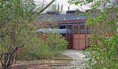 Roundhouse No.29 (Nic2209) Tags: station flickr eisenbahn railway bahn gebäude glas roundhouse schienen 2015 ringlokschuppen lokschuppen bahnschienen eisenbahnschienen nic2209 nikond7200 curry36tourwaa