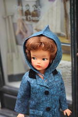 Rainy May (tamsykens1) Tags: puddle doll tammy 1960s ideal raincoat jumpers