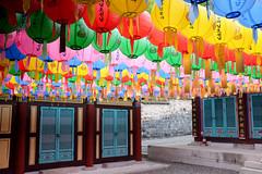 073 (gmouret92) Tags: temple fuji lantern southkorea dmz lampion coredusud buddhabirthday x100t geobongsa