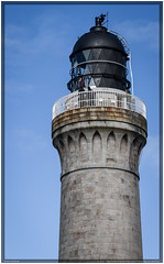 Scotland 2016 - Ardnamurchan Lighthouse (Ulster79) Tags: sky detail architecture scotland outdoor himmel highland gb architektur persons leuchtturm personen acharacle lighthousebeacon