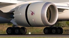 Qatar Airways Boeing 787 Dreamliner A7-BCZ (Ian Marsh 787) Tags: plane manchester airport nikon aviation engine 300mm planes boeing airways nikkor runway f4 afs qatar planespotting 787 egcc dreamliner d7100 a7bcz