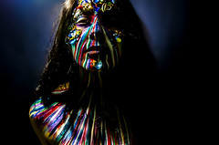 Mibstress 1 (Jef Harris) Tags: portrait lightsandshadows ottawa bodypaint wig facepaint homestudio creativemakeup jefharris