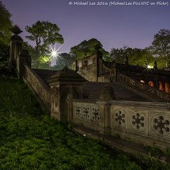 Bethesda Terrace (DSC06005) (Michael.Lee.Pics.NYC) Tags: longexposure newyork night square centralpark sony arcade steps bethesdaterrace a7rm2 zeissloxia21mmf28