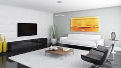 SALA ESTAR (domcio ferreira) Tags: art arquitetura cores design 3d arte interiores decorao quadros projetos telas maquetes