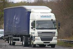 DAF CF Platt & Hill MX60 CVO (SR Photos Torksey) Tags: road truck hill transport lorry commercial vehicle freight cf logistics platt daf haulage hgv lgv