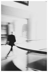 Spectre (catskinroyale) Tags: fuji fast x100s blackandwhite outoffocus london white ethereal movement fujifilm