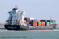 Sonderborg Strait (andreasspoerri) Tags: rotterdam containerschiff antiguabarbuda sonderborgstrait imo9454242 nanjingwujiazuinanjing