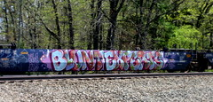 BluntExperts (timetomakethepasta) Tags: train graffiti gums be vela blunt freight rong experts reos intermodal skaz slye lucif