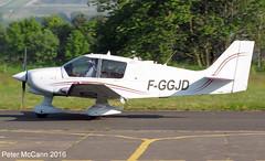 F-GGJD  DR400 Fife June 2016 (pmccann54) Tags: glenrothes robindr400 fggjd fiferegionalairport
