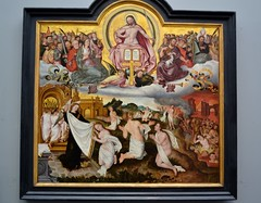 The Last Judgement 1525 by Jan Provoost (1465 -1529) (greentool2002) Tags: museum last jan bruges judgement the 1529 provoost 1525 groeninge 1465