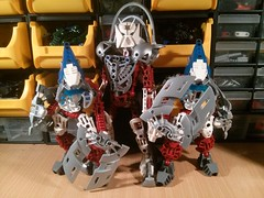Twin WIP Protector Vahki Sisters (Ddke) Tags: sisters lego twin bionicle vahki