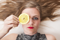 20160423_5452edit (Hatleskog photography) Tags: portrait people color art girl beauty norway fruit youth photoshop studio lemon nikon pretty photoshoot young experiment indoor edit fruitoshoot